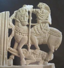 Conflicto entre Horus y Seth. Museo del Louvre, París