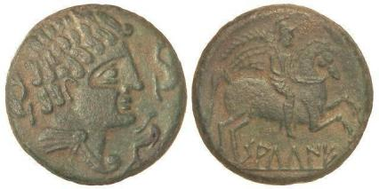 As de saltuie. Tránsito de los siglos II al I a.C.  (Tomado de: https://www.subastashervera.com)