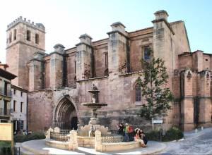 Imágenes de la colegiata de Mora de Rubielos