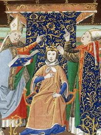 coronación de Enrique II