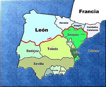 La Península Ibérica a finales del reinado de Al-Muqtádir