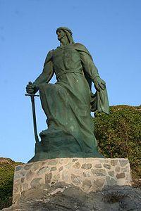 escultura de Abderraman I