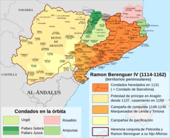Las conquistas de Ramón Berenguer IV