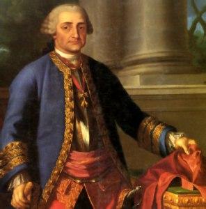 Retrato del conde de Aranda de Ramón Bayeu (1769)