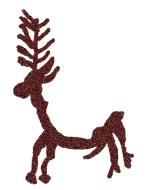 ciervo esquemático