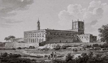 Exterior Santa Engracia de Alexandre de Laborde
