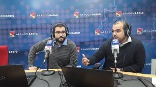 Alan y Sergio en Despierta Aragón de Aragón Radio