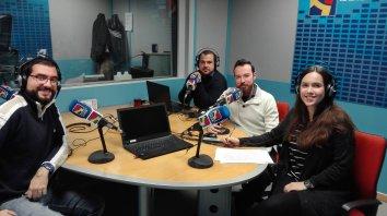 Entrevista en el Tranvía Verde de Aragón Radio