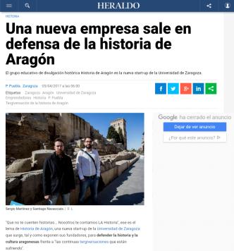 Heraldo de Aragón abril 2017