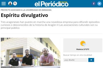 Periódico de Aragón agosto 2017