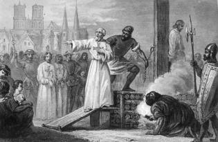 Ejecución Jacques de Molay