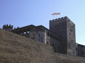 La_Aljafería_-_Torre_del_trovador
