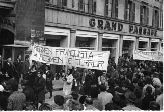 Manifestación-en-Ginebra-1969-contra-estado-excepción