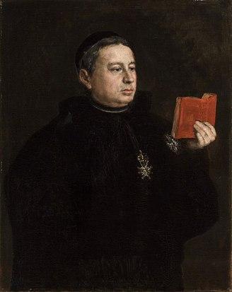 Francisco de Goya y Lucientes. Retrato del canonigo D. Jose Duaso y Latre