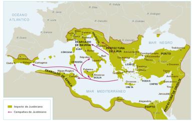 mapas-el-imperio-romano-de-oriente-en-tiempos-de-justiniano-siglo-vi-20061126